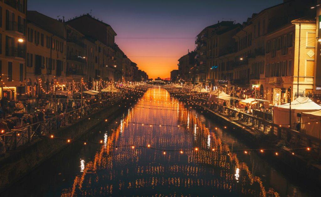 7 obiective turistice Milano- Naviglio