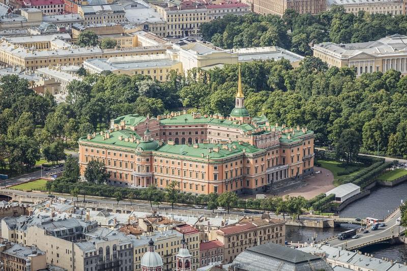 Obiective turistice Sankt Petersburg - Castelul Mikhailovskyi