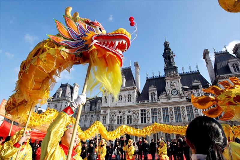 Anul Nou Chinezesc - parada de la Paris
