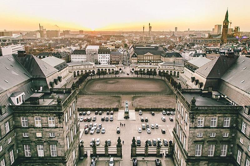 Palatul Christiansborg Copenhaga