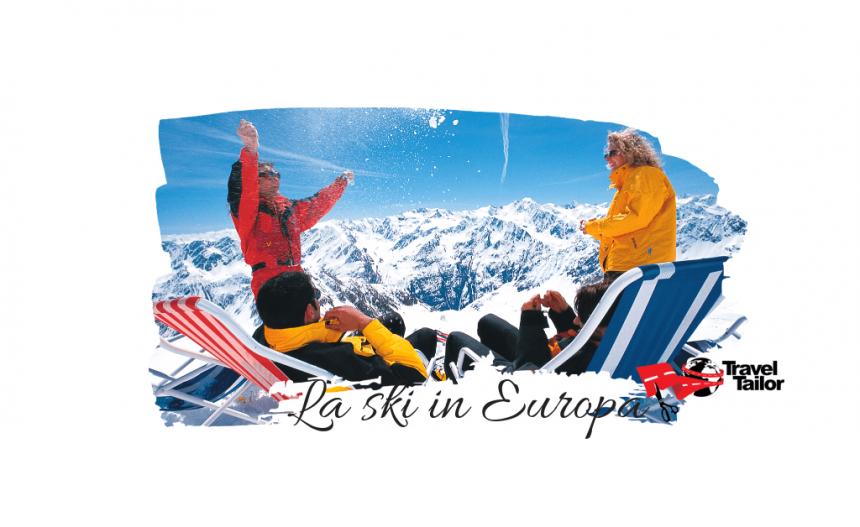 5 dintre cele mai bune statiuni de ski din Europa…pe care vi le permiteti!
