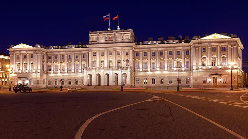 Obiective turistice Sankt Petersburg - Palatul Mariinksyi
