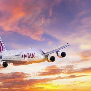 Rasfat in doi la business class cu Qatar Airways