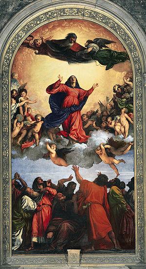 Titian - Inaltarea Fecioarei