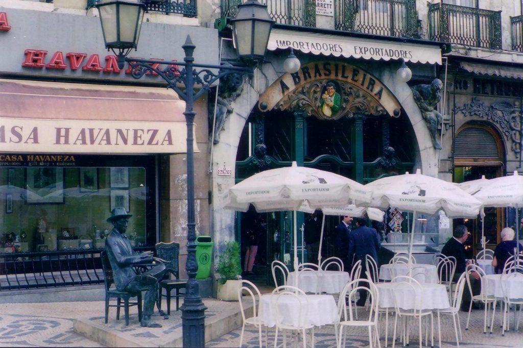 Chiado, Lisabona - Cafe Brasileira