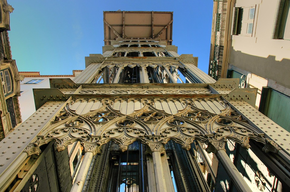 Liftul Santa Justa, Lisabona