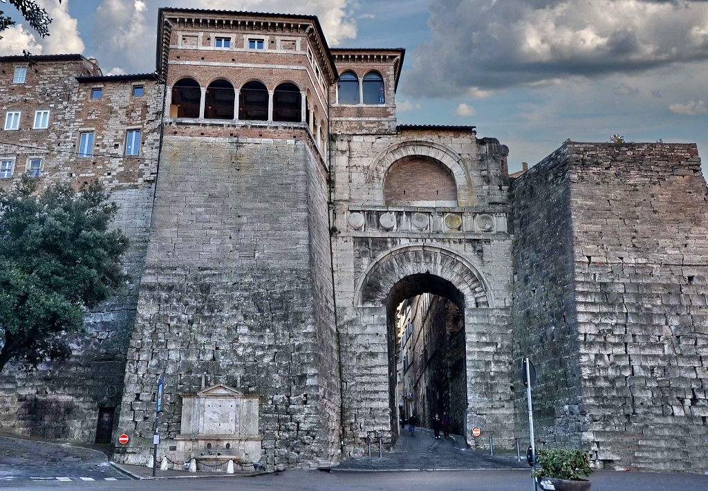 Arco d'Augusto Perugia