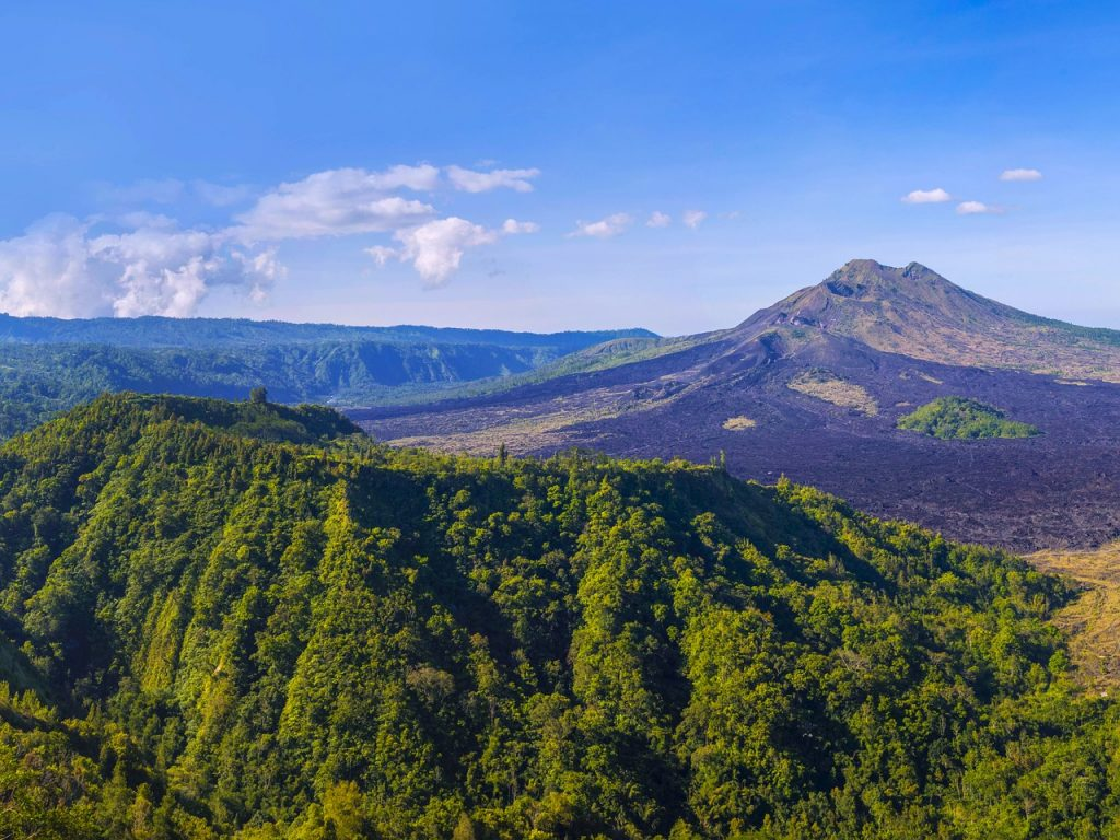 Munti in Bali