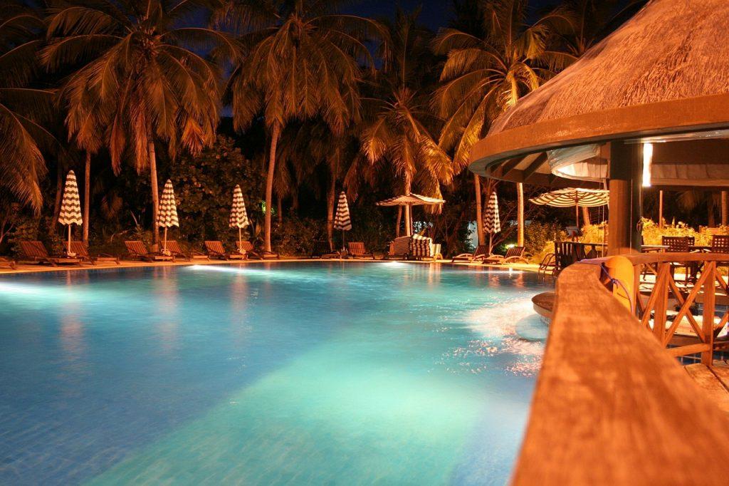 Maldive - piscina