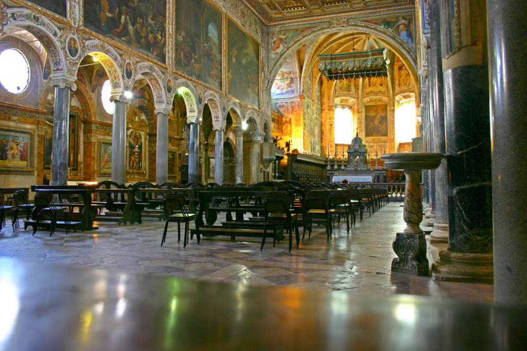Basilica San Pietro, Perugia