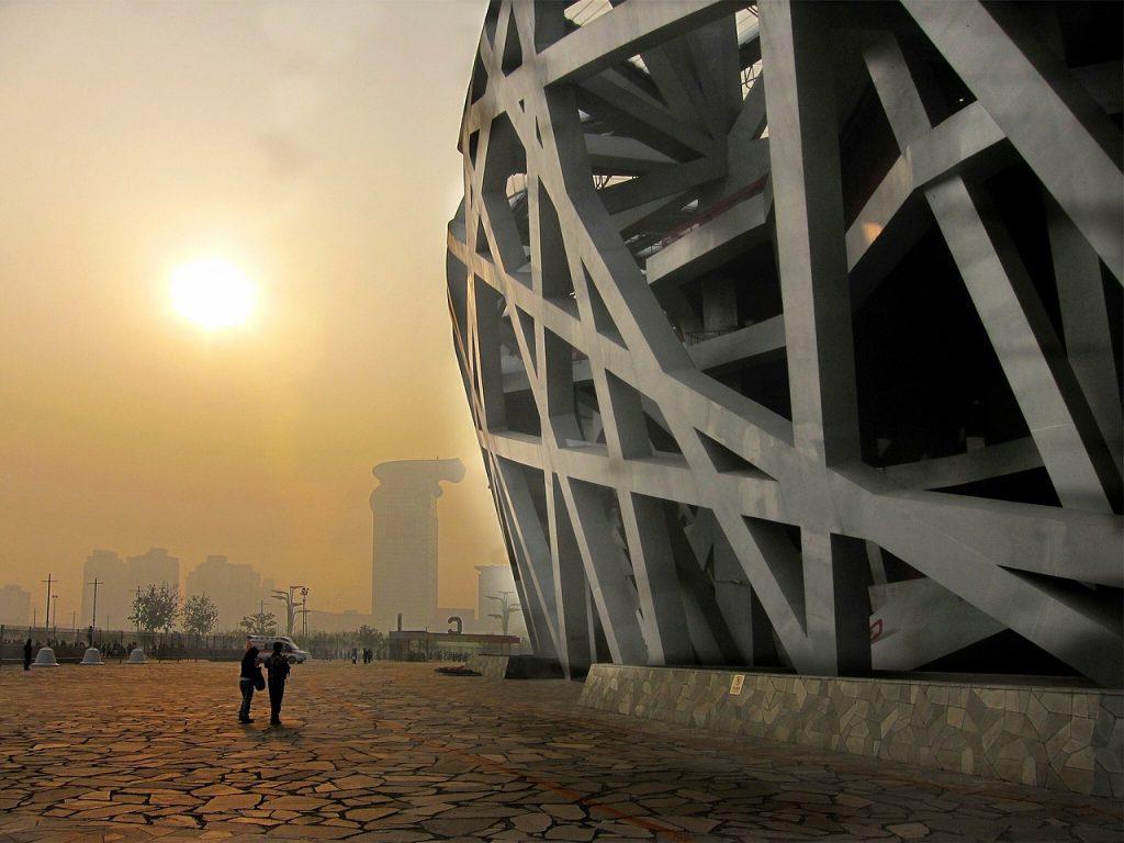"Stadionul National din Beijing - ""Cuib de pasare"""