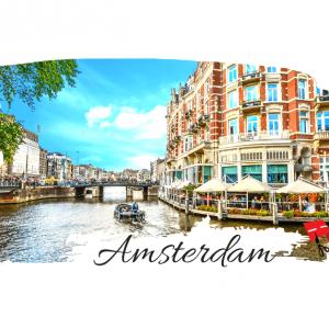 In Aprilie la…Amsterdam