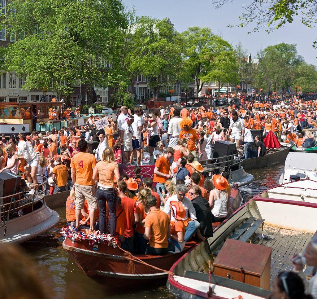 Ziua Regelui, Amsterdam
