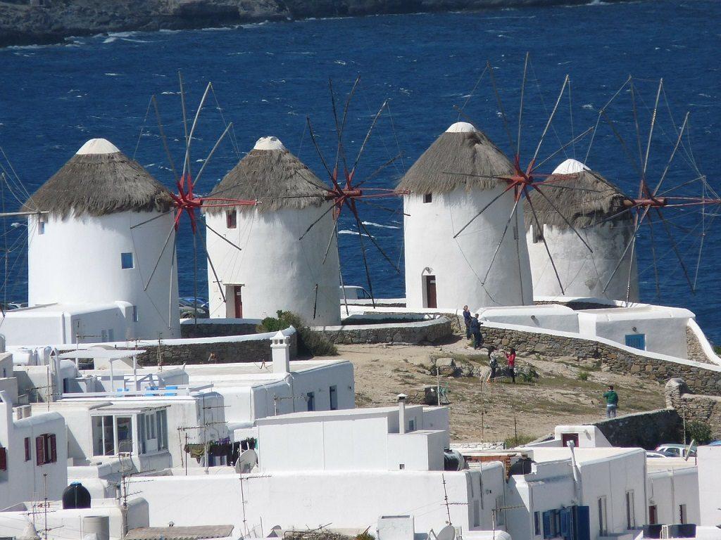 Insula Mykonos, Grecia - mori de vant