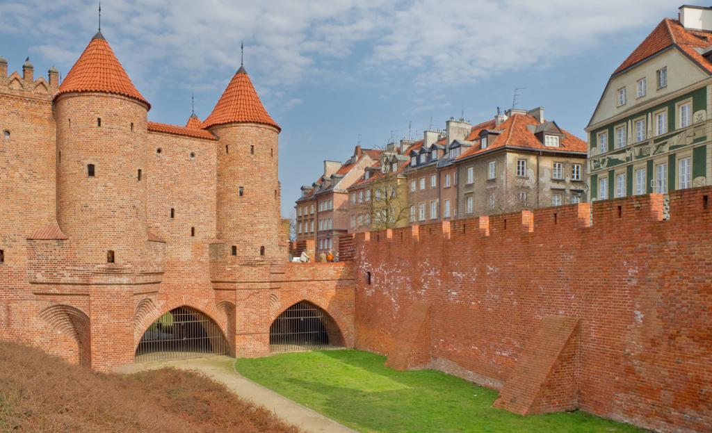 Fortareata Barbakan, Varsovia