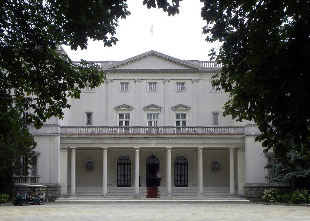 Obiective turistice Belgrad - Palatul Alb
