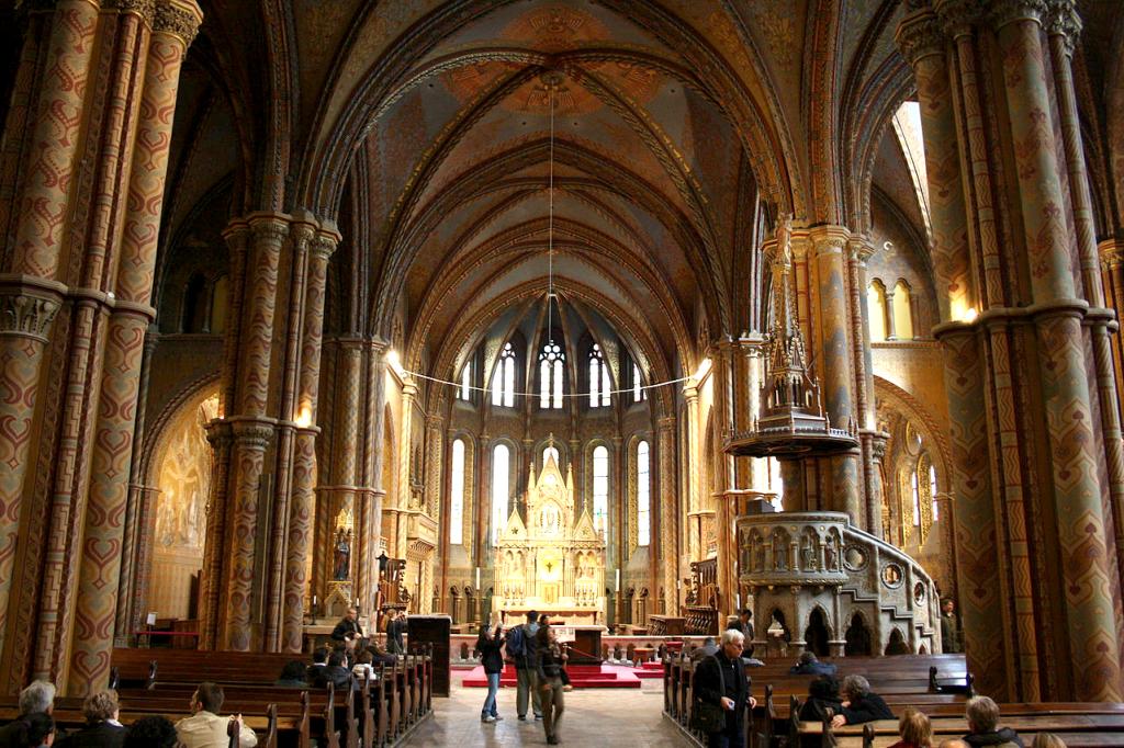 Biserica Matyas, Budapesta - Ungaria