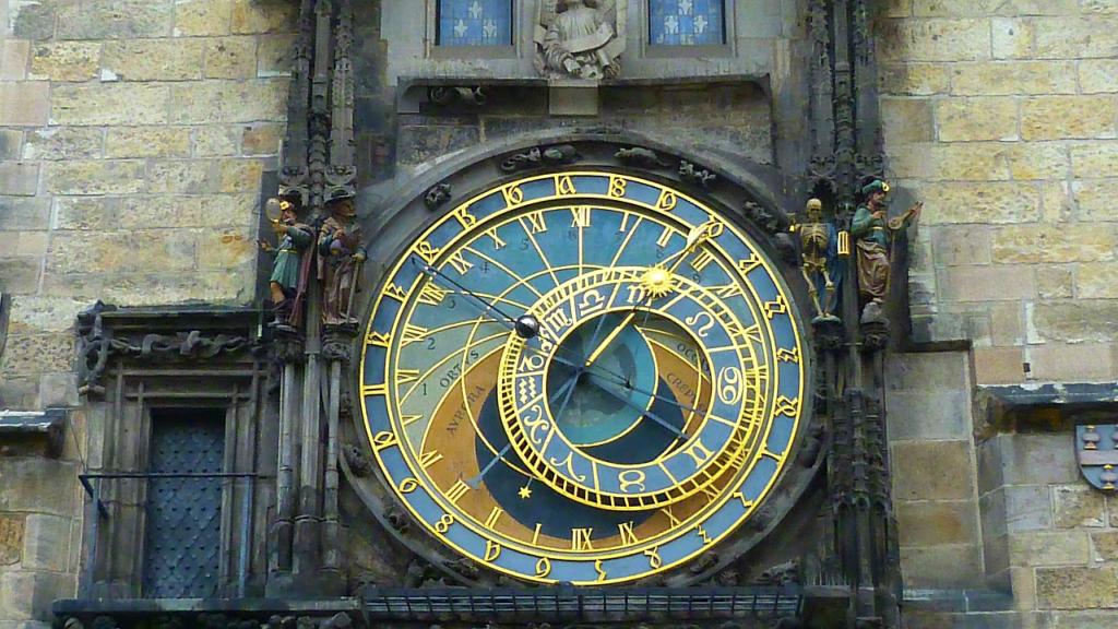 Ceasul Astronomic Praga - Cladirea Turnului Primariei