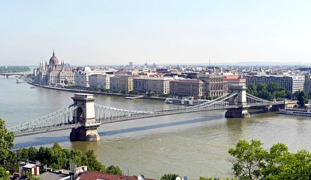 Dunarea la Budapesta