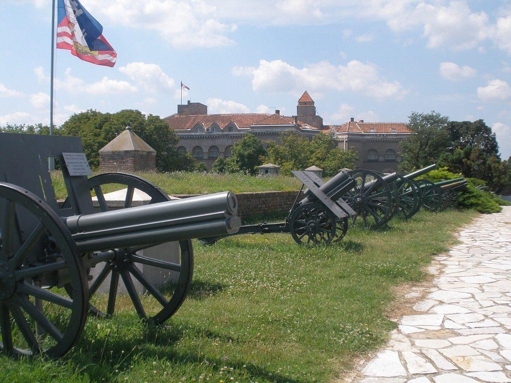 Cetatea Kalmegdan - obiective turistice Belgrad