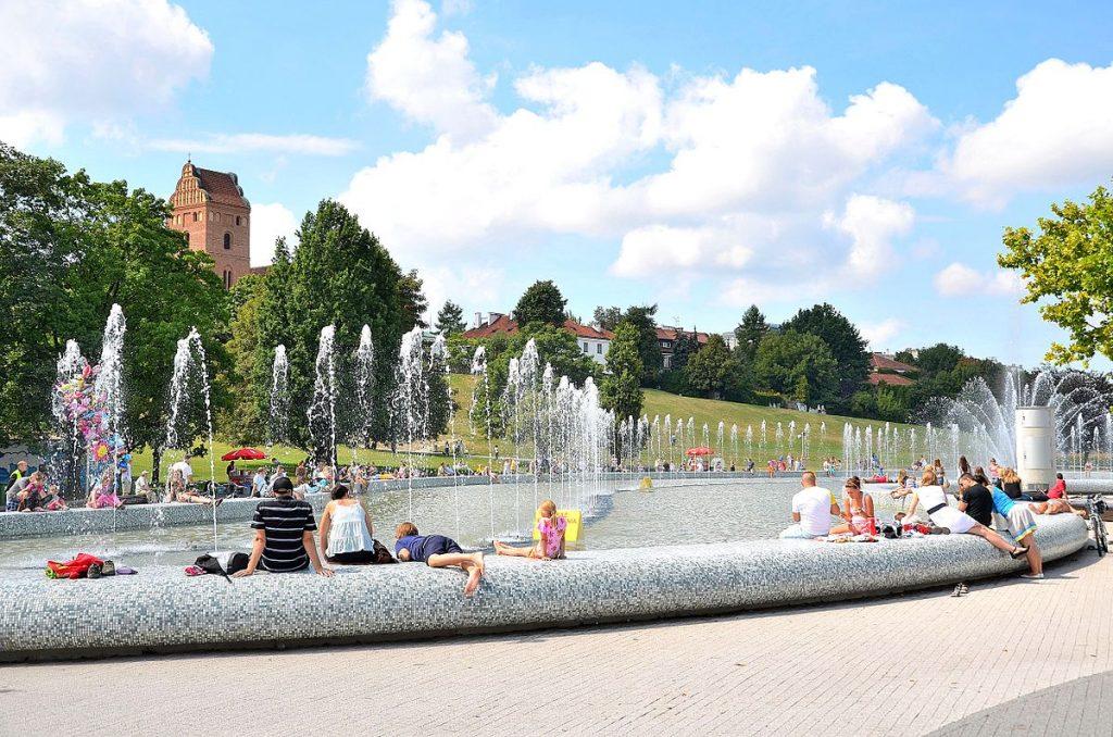 Gradini in Varsovia