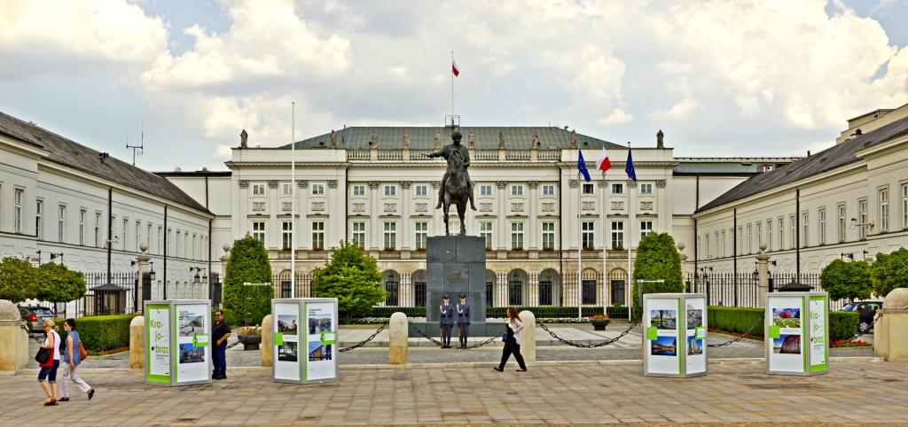 Palatul Prezidential Varsovia
