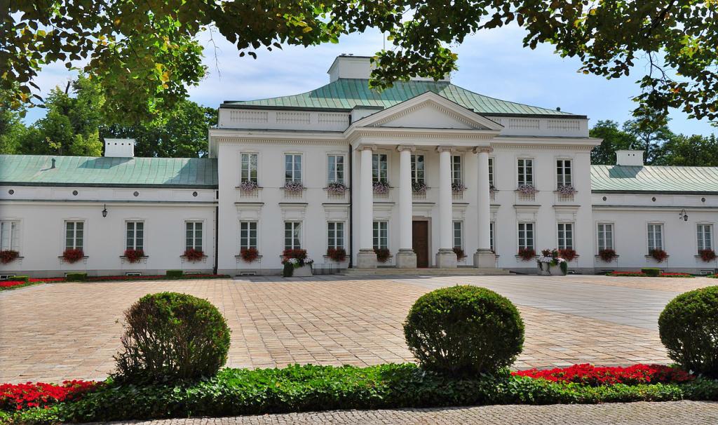 Palatul Belvedere Varsovia