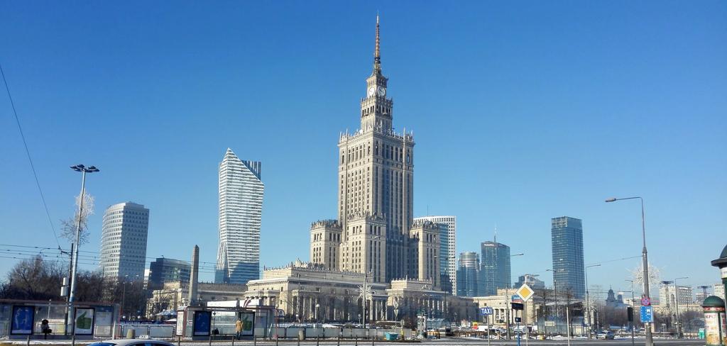 Palatul Stiintei si Culturii Varsovia
