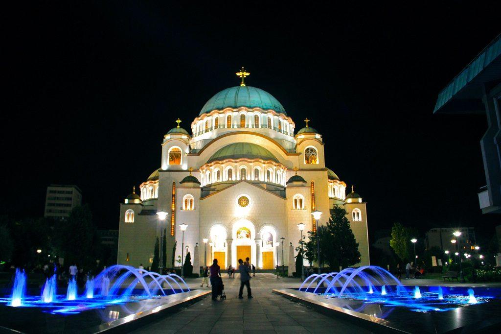 Sveti Sava - cea mai mare biserica ortodoxa din Balcani