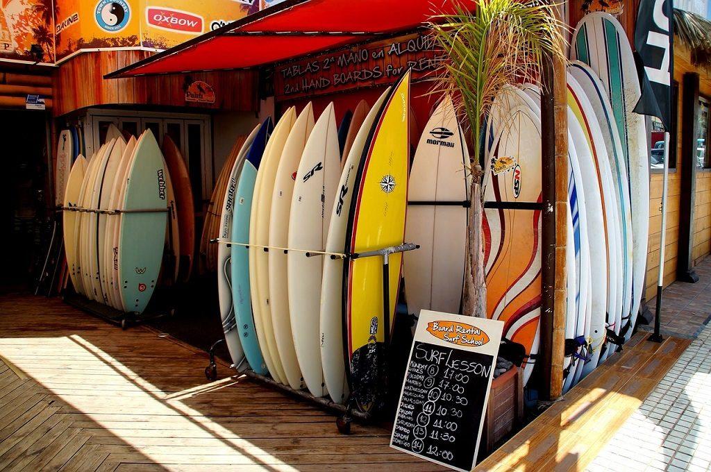 Placi de surf in Tenerife