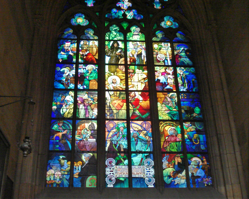 Vitralii Catedrala St Vitus