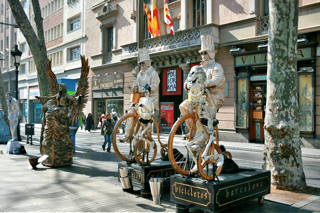 Ce poti vizita in Barcelona - La Rambla