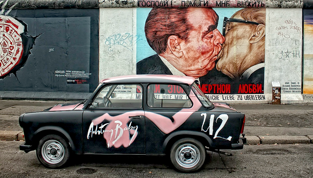 Obiective turistice Berlin - East Side Gallery