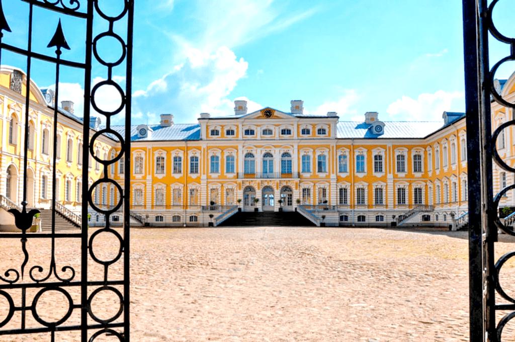 Obiective turistice Letonia - Palatul Rundale