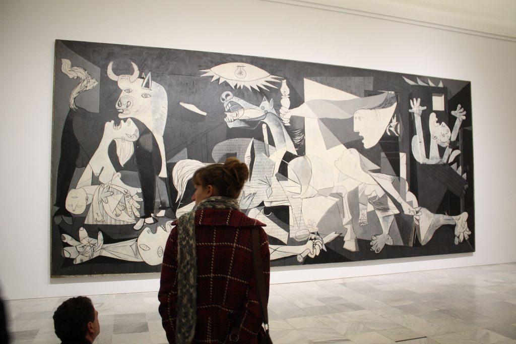 Obiective turistice Madrid - Muzeul National de Arta Contemporana Reina Sofia