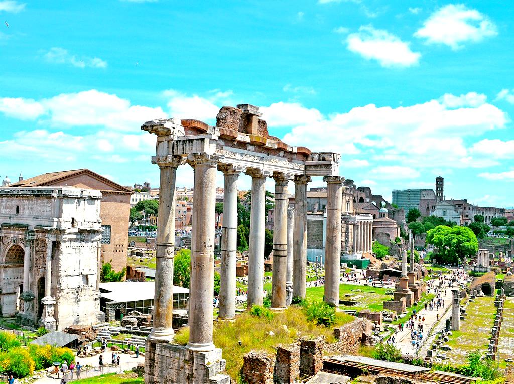 Obiective turistice Roma -Forul Roman