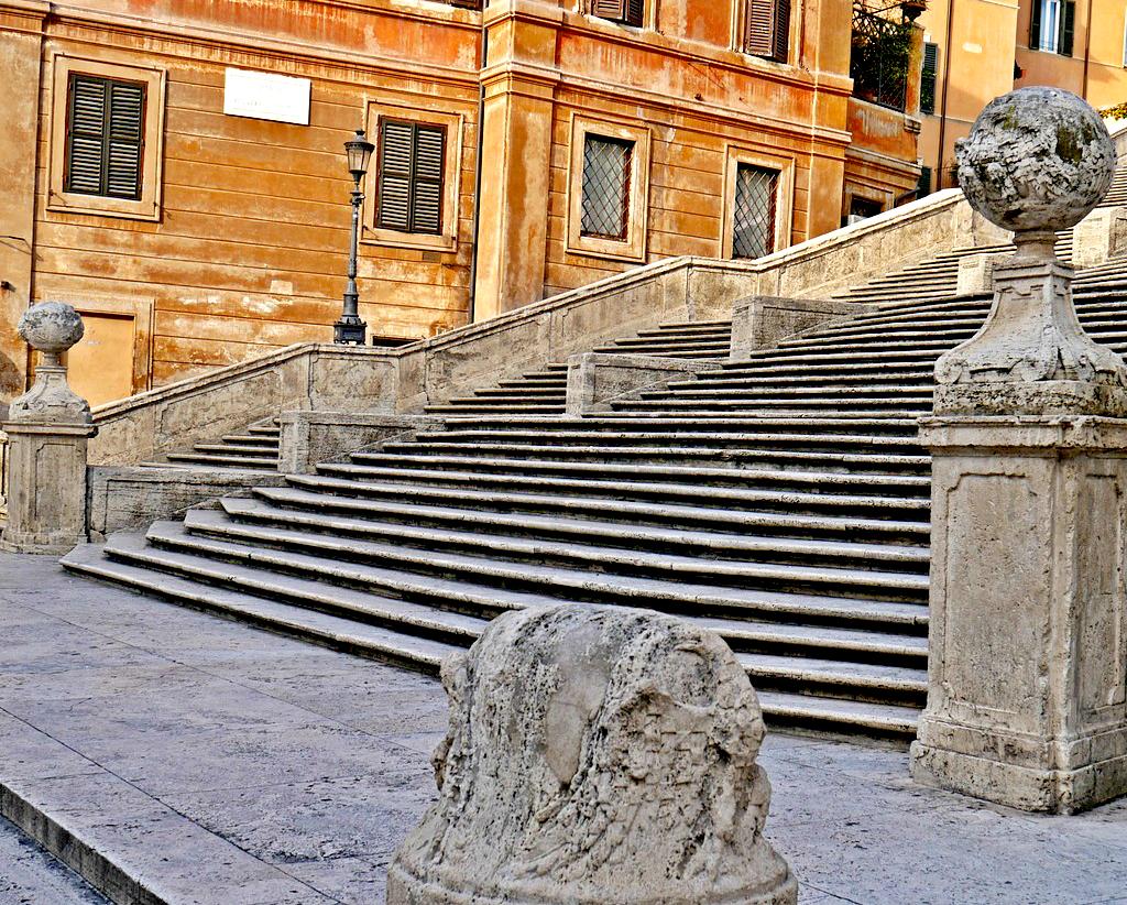 Obiective turistice Roma - Treptele Spaniole