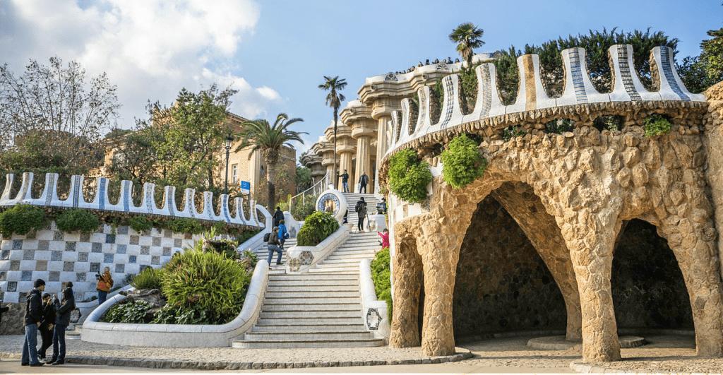 Obiective turistice Barcelona - Parcul Guell