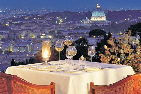 Restaurant La Pergola - Roma