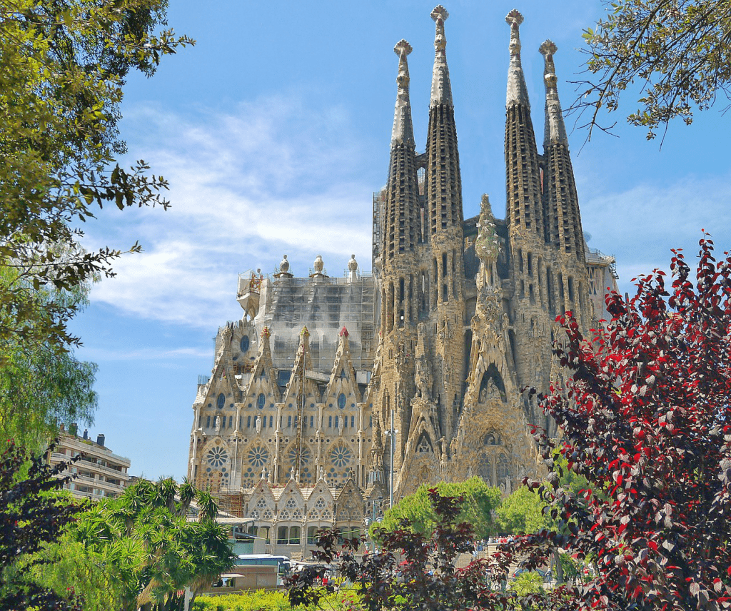 Obiective turistice Barcelona - Sagrada familia