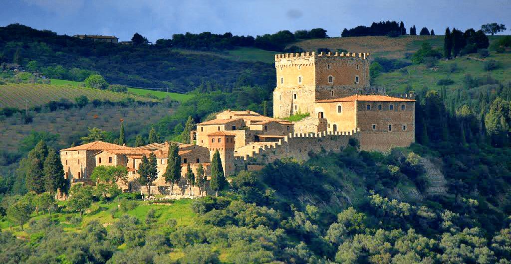 Castele Europa - Castello di Ripa d'Orcia - Italia