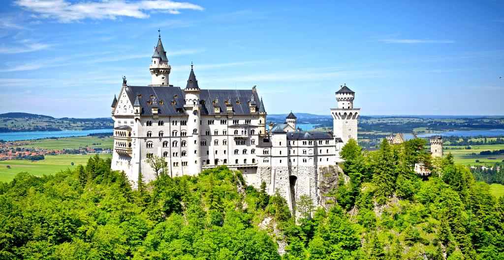 Romantische Strasse - Castelul Neuschwanstein