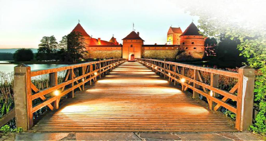 Obiective turistice Lituania - Castelul Trakai