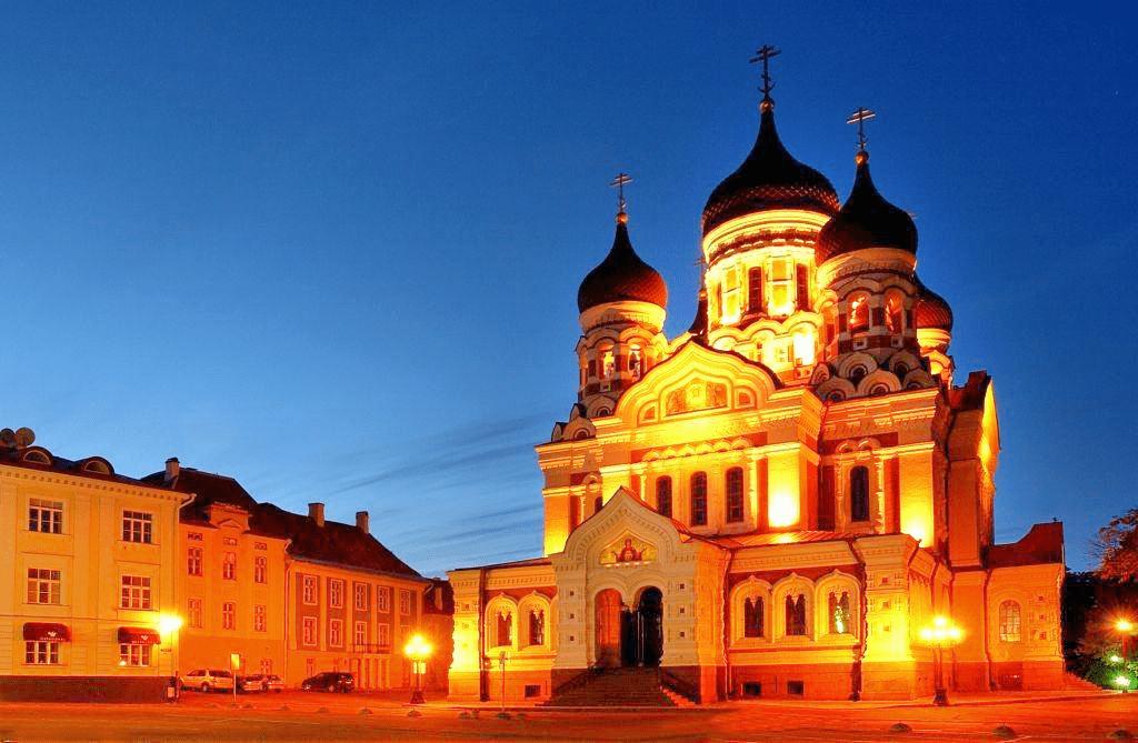 Obiective turistice Estonia - Catedrala Aleksandr Nevsky