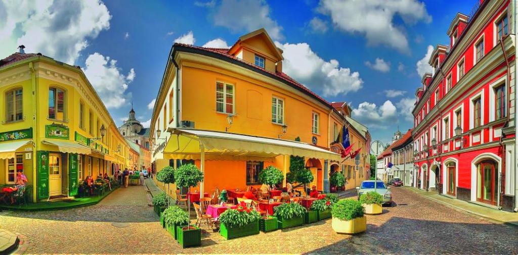 Obiective turistice Lituania - Centrul vechi Vilnius