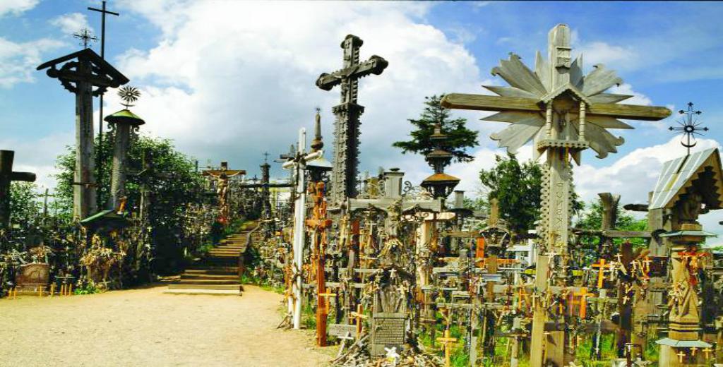 Obiective turistice Lituania - Dealul Crucilor
