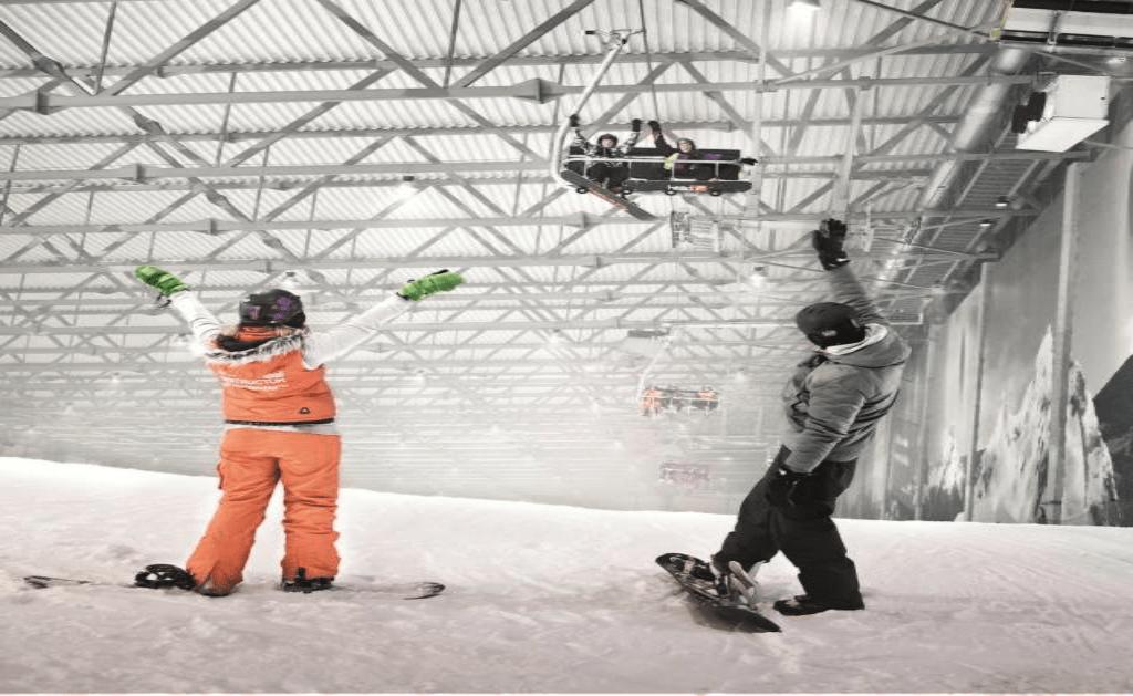 Obiective turistice Lituania - Snow Arena