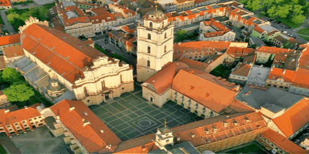 Obiective turistice Lituania - Universitatea din Vilnius