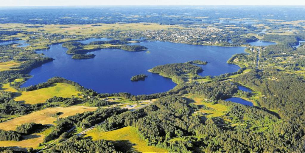Obiective turistice Lituania - Parcul National Aukstaitija
