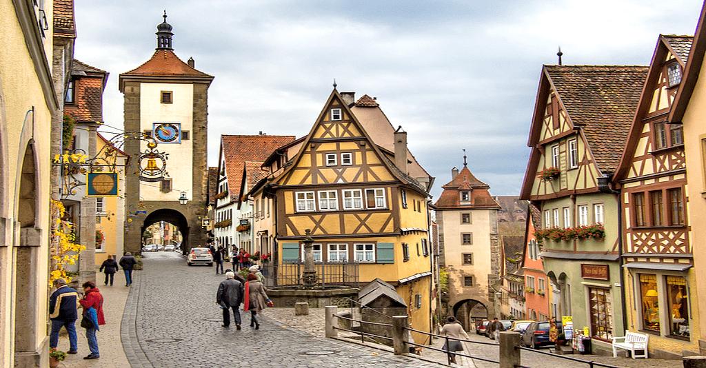 Romantische Strasse - Rothenburg ob der Tauber